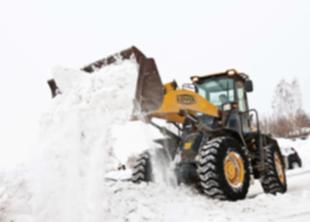 400 тыс.м3 снега убрали с улиц за март