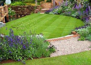 Форма газона и «фигурная» стрижка