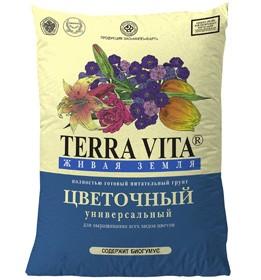 Грунт Живая земля (Terra Vita) «Цветочный»