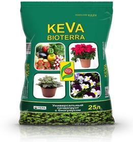 KEVA BIOTERRA «Почвогрунт с биогумусом»