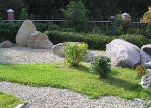 Камни в ландшафтных композициях