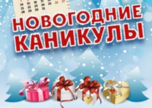 Новогодние каникулы 2016 - 2017