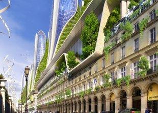 Париж скоро станет зелёным