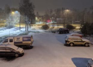 Первый снег выпал в Санкт-Петербурге в 2019 году