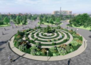 Представлен проект парка на месте СКК