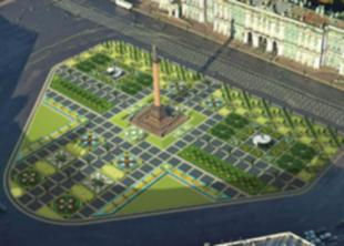 Программа озеленения Петербурга начнется с ремонта сада у Смольного
