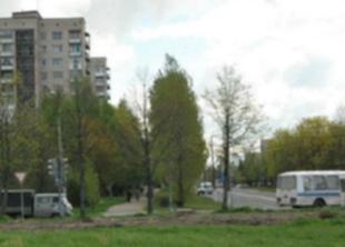 Новый сквер «Снегурочка» в Киришах