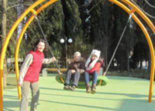 Уникальная для России детская площадка создана в Красноярске