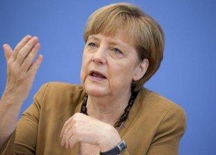 Украли газон, приготовленный для визита Меркель