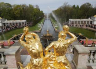 В Петергофе открывается сезон фонтанов