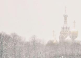 Весеннее похолодание в Петербурге