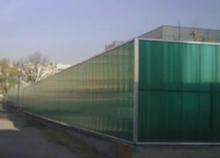 За стеклянным забором